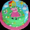 Детский торт Свинка Пеппа ДТ46 фото