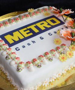 Корпоративный торт КТ16 фото