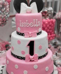 Детский трехъярусный торт ДТ116 фото
