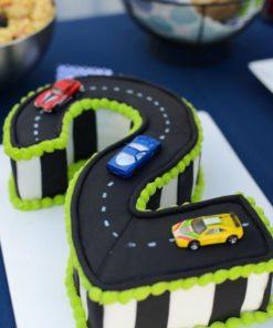 Детский торт Трасса гонки ДТ115 ФОТО