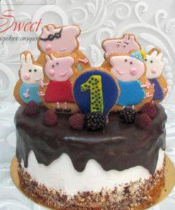 Детский торт Свинка Пеппа ДТ5 фото