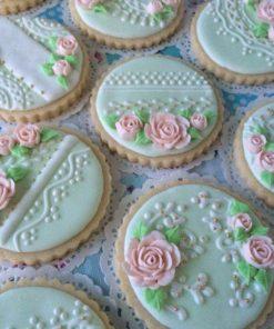 Свадебное печенье СВ8 фото