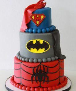 Детский торт Супергерои ДТ112 фото