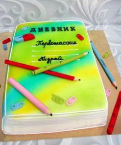 Детский торт Школа ДТ3 фото