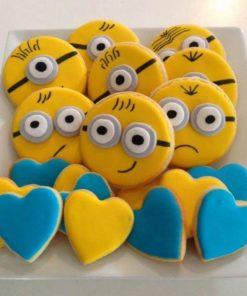 Детское печенье Миньоны ДП12 фото