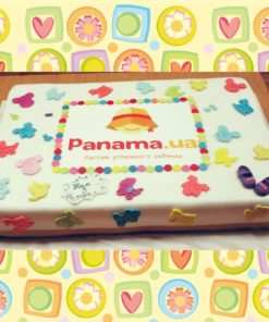 Торт на корпоратив для компании Panama.ua КТ25 фото