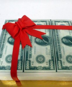"""Праздничный торт """"Доллары"""" ПТ103 фото"""