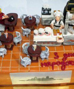 Корпоративный торт с сюжетом КТ7 фото