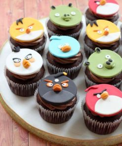 "Детские капкейки ""Angry Birds"" ДК17 фото"