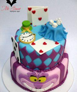Детский торт Алиса в стране чудес ДТ22 фото