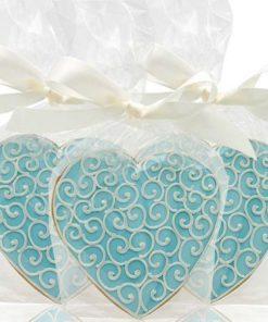 Свадебное печенье СВ3 фото