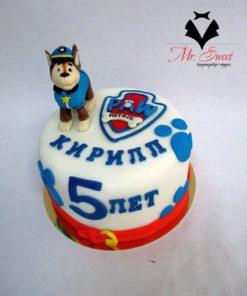 Детский торт Собачий патруль ДТ21 фото