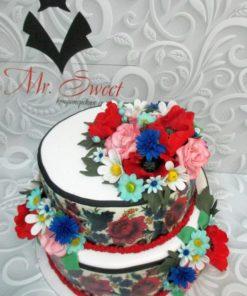 Праздничный торт ПТ94 фото