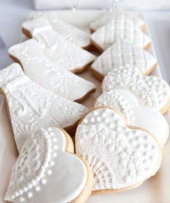 Свадебное печенье СВ2 фото