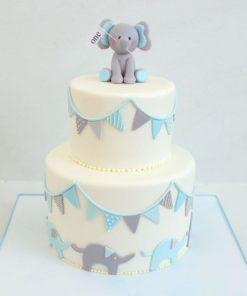 Детский торт Слоники ДТ124 фото