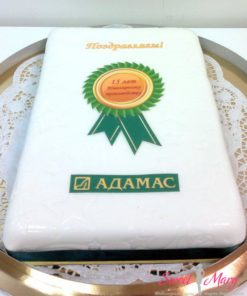 Корпоративный торт на годовщину компании КТ20 фото