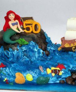 Праздничный торт Русалочка ПТ105 фото