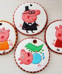 Детское печенье Свинка Пэпа ДП3 фото