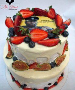 """Праздничный торт """"Ягодный"""" ПТ102 фото"""