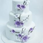 """Свадебный торт """"Сакура"""" СВ34 фото"""