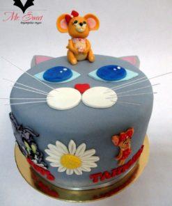 Детский торт Кошки-мышки ДТ21 фото