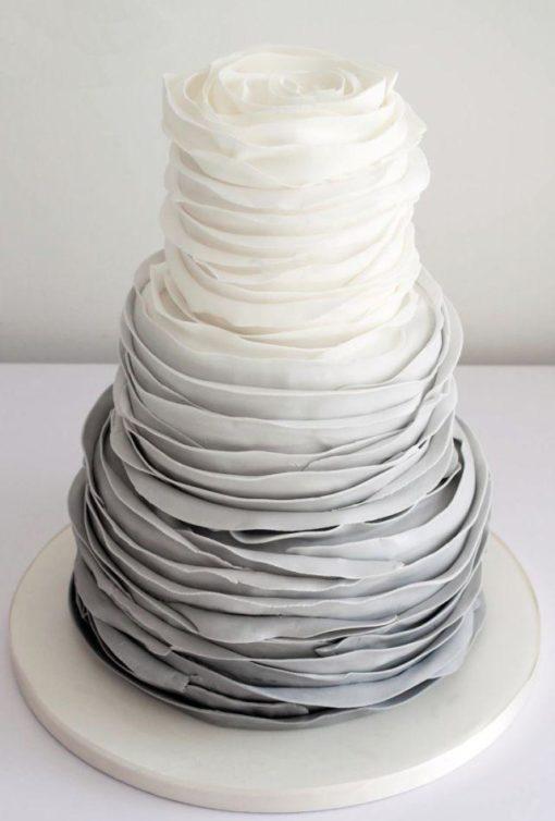 Свадебный торт СВ77 фото