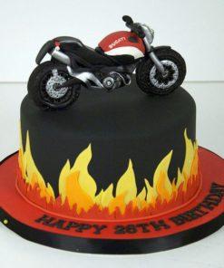 Праздничный торт Байкеру Ducati ПТ67 фото