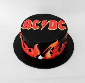 Праздничный торт AC/DC ПТ112 фото