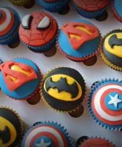 Детские капкейки Супергерои Марвел ДК6 фото