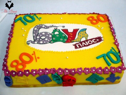 Корпоративный торт КТ23 фото