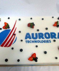 Корпоративный торт КТ22 фото