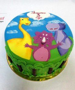 Детский торт Дино ДТ18 фото