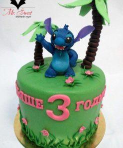 Детский торт Лило и Стич ДТ14 фото