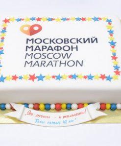 Корпоративный торт КТ19 фото