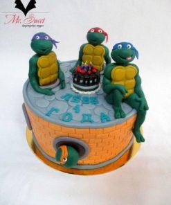 Детский торт Черепашки ниндзя ДТ28 фото