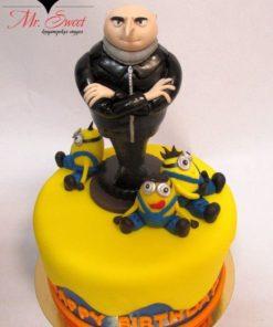 Детский торт Миньоны 2 ДТ13 фото