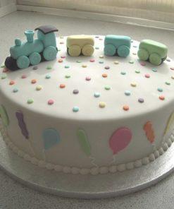 Детский торт Паровозик ДТ122 фото
