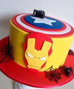 Детский торт Железный человек ДТ78 фото
