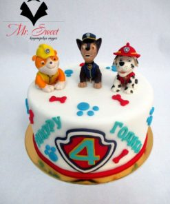 Детский торт Собачий патруль ДТ27 фото