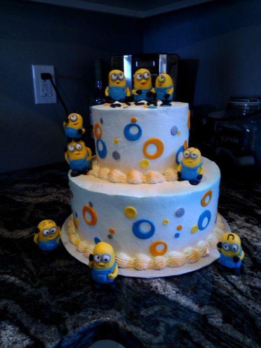 Детский торт Миньоны ДТ121 фото