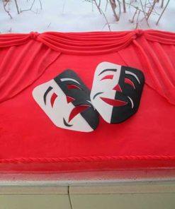 """Корпоративный торт """"Театр"""" КТ29 фото"""