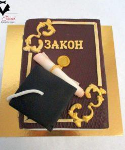 """Праздничный торт """"Закон"""" ПТ98 фото"""
