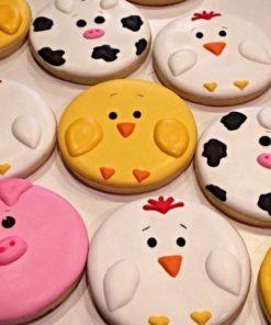 Детское печенье Зверюшки фермы ДП20 фото