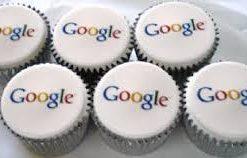 Корпоративные капкейки с логотипом Google КК5 фото