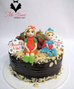 Детский торт Сестрички ДТ26 фото