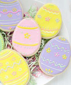 Детское печенье Пасхальное яйцо ДП19 фото