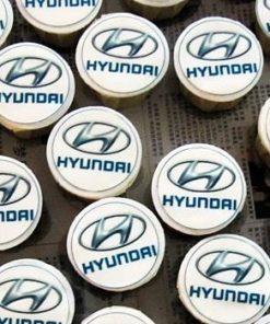 Корпоративные капкейки Hyundai КК3 фото