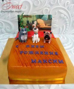 Детский торт Тайная жизнь домашних животных ДТ8 фото
