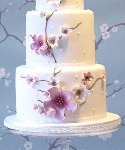 Трехъярусный торт на свадьбу СВ54