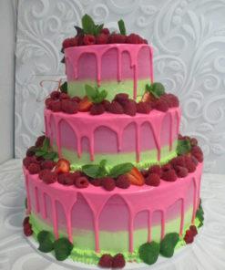 """Свадебный торт """"Ягодка"""" СВ16 фото"""